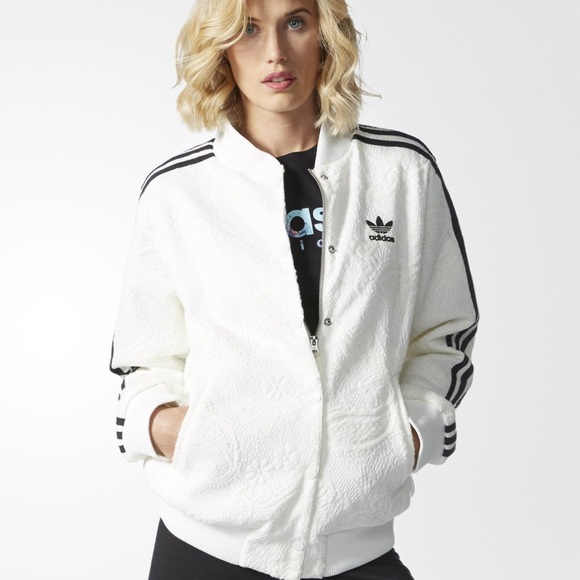 ADIDAS ORIGINALS WOMEN'S COLLEGE JACKET